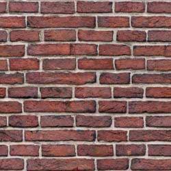 Dark red brick wall seamless texture