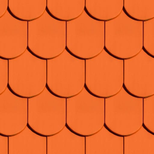 Red roof tile seamless texture
