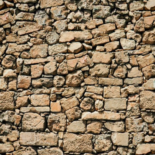 Old stone wall seamless texture