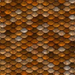 Gold and silver roof tiling seamless texture
