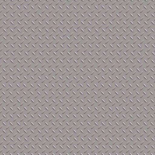 Non slip galvanized metal plate tiling texture