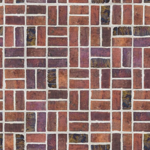 Decorative brick wall free seamless texture