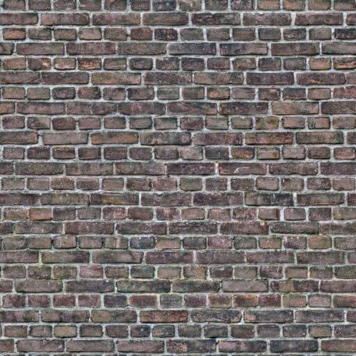 Dark old brick wall