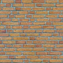 Warm brown yellow brick wall