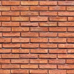 rustic red decorative brick wall