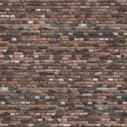 Colorfull old brick wall patina seamless texture