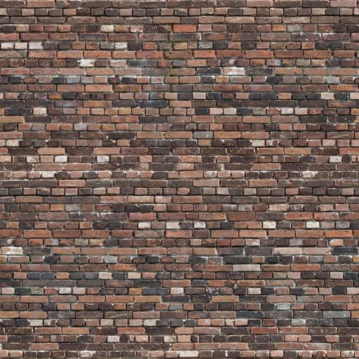 Colorfull old brick wall patina seamless texture