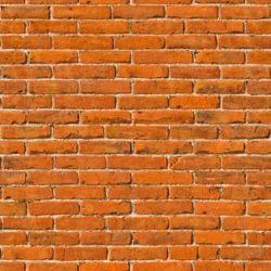 Masonry red brick wall seamless texture