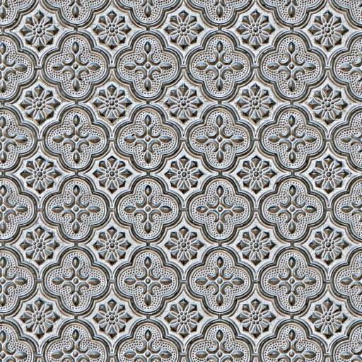 Baroque tin ceiling tile - tiling texture