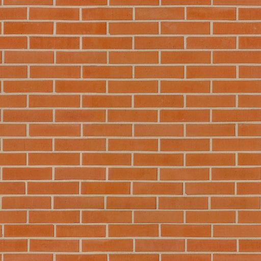 Smooth decorative brick wall