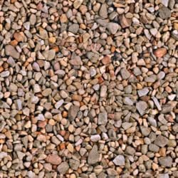 Multicolored gravel-seamless texture