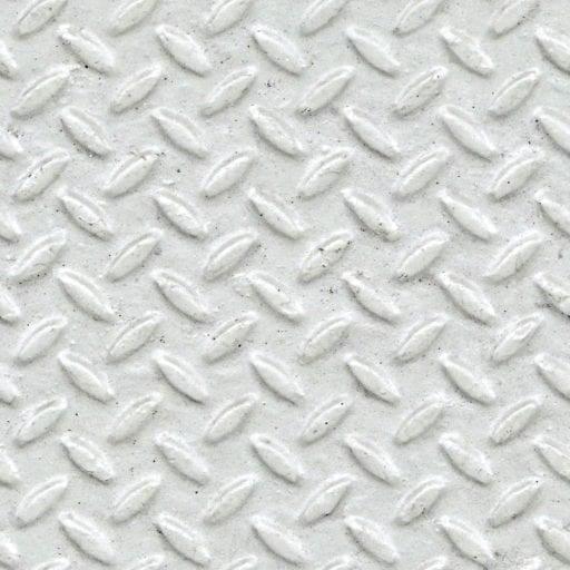 white painted non-slip metal - seamless texture