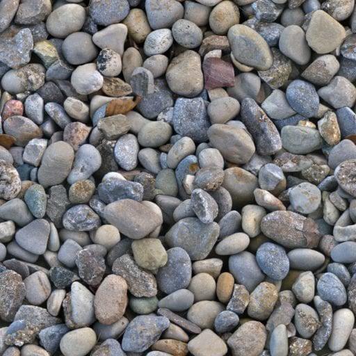 river stones seamless texture