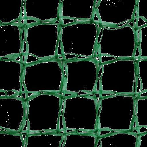 Green plastic net for potato packaging