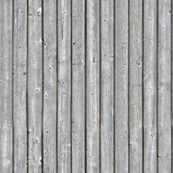 Wood planks facade