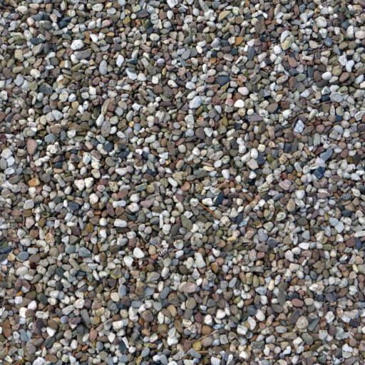 Round Pebbles - seamless texture