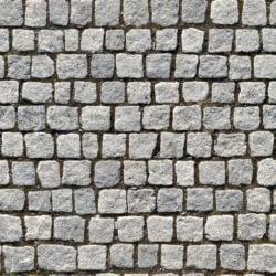 large stone pavement seamless texture