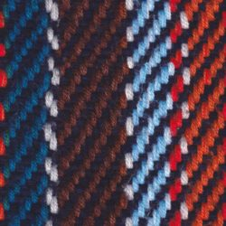 knitted scarf with blue and red shades seamless texture