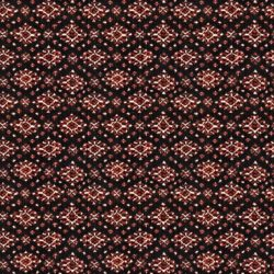 Woven fabric with diamond pattern detail
