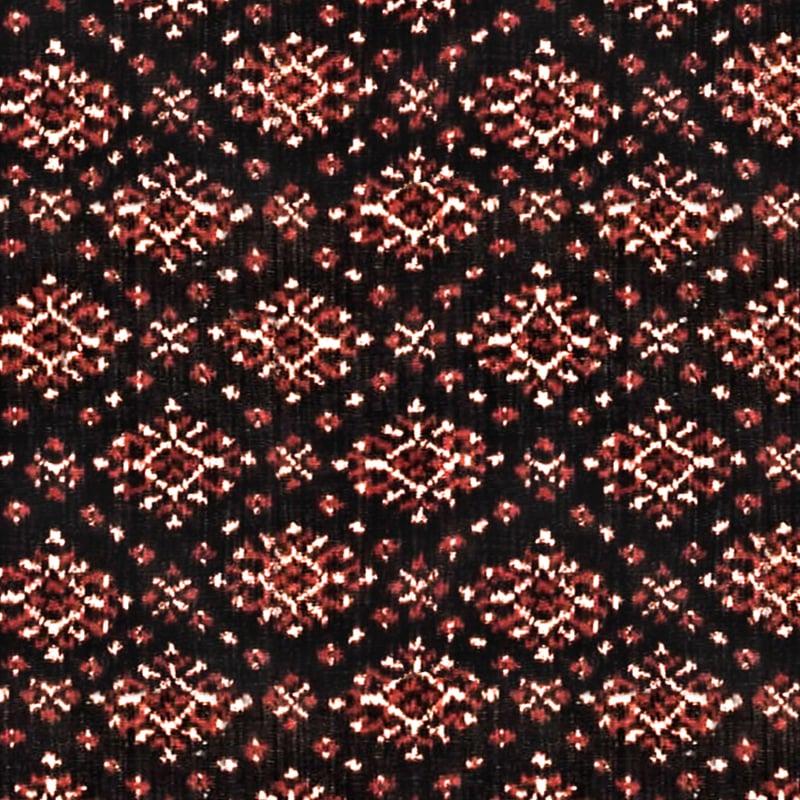 Woven fabric with diamond pattern close up