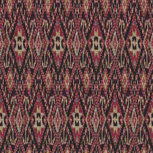 Silk cloth with geometric motifs seamless texture