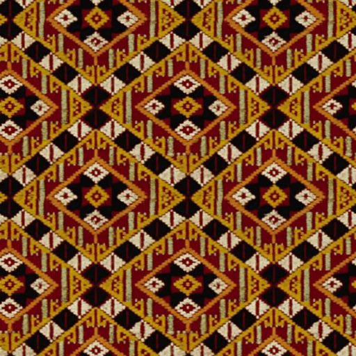 Fabric with rhomb motifs seamless texture