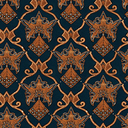 floral motives batik seamless texture