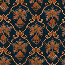 floral motives batik seamless texture
