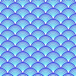 Blue abstract wave pattern nonpng