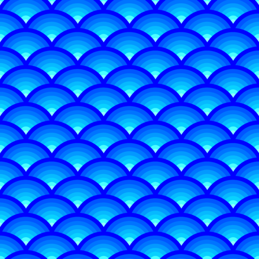 Gradient abstract wave pattern