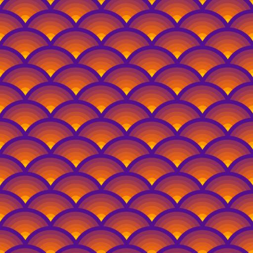 Warm wave pattern