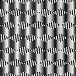 Isometric cubes stripes