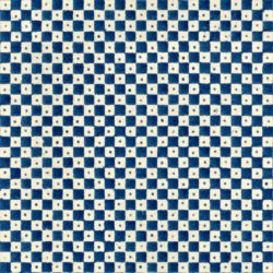 checkerboard pattern made with woodblock printing technique
