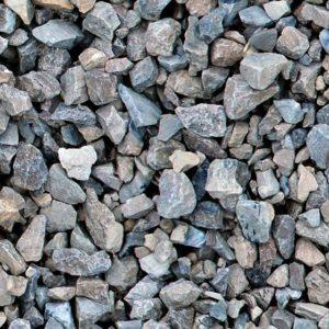 Grey garden aggregate - close up