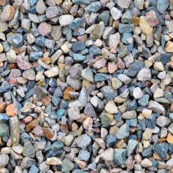 Multicolored decorative aggregate
